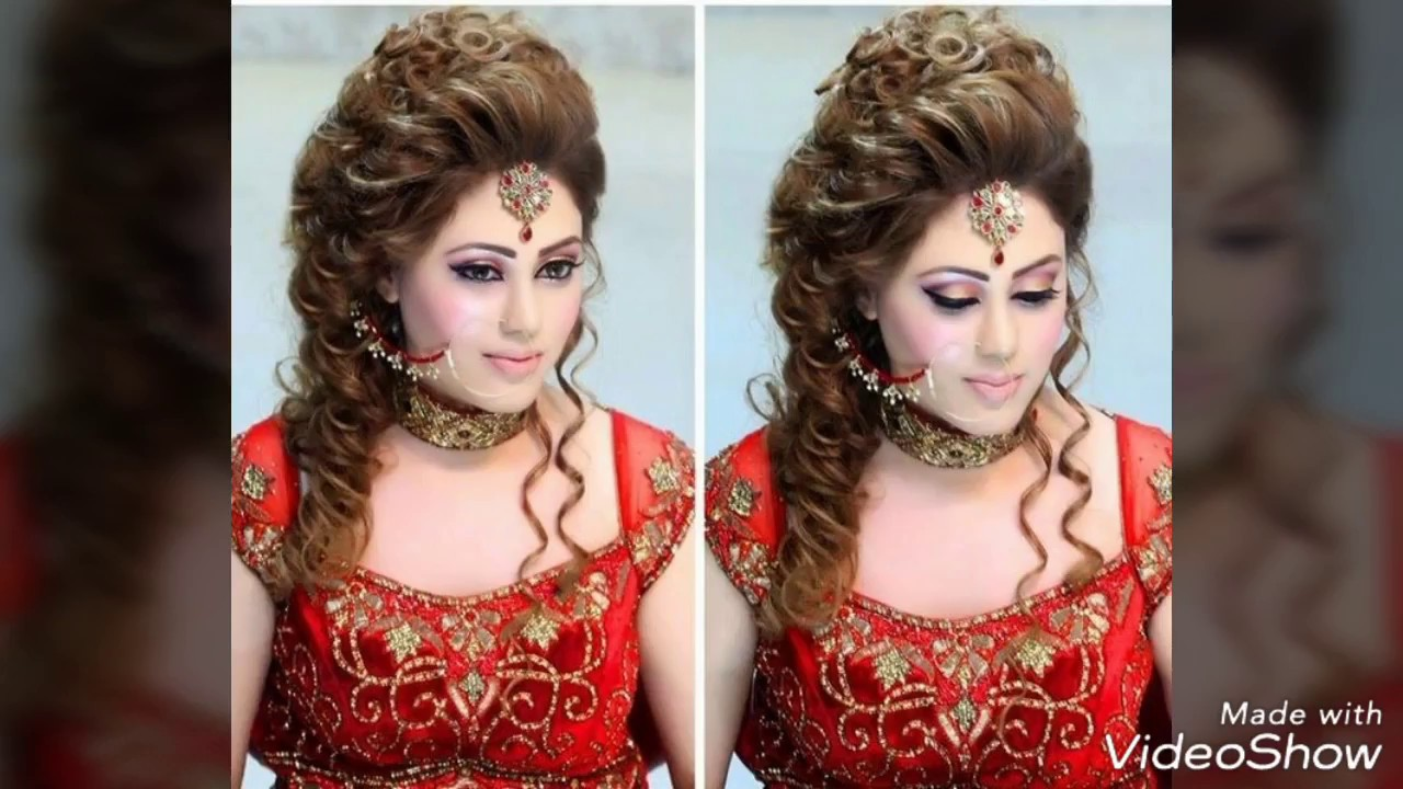 Dulhan Hair Style New Look Best And Stylish Looking Indian Wedding