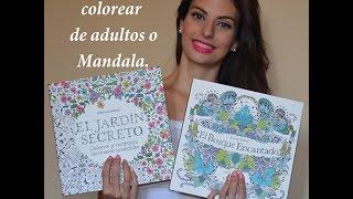Review libros Jardín Secreto/Secret Garden y Bosque Encantado/Enchanted Forest ॥ Like Mannequins