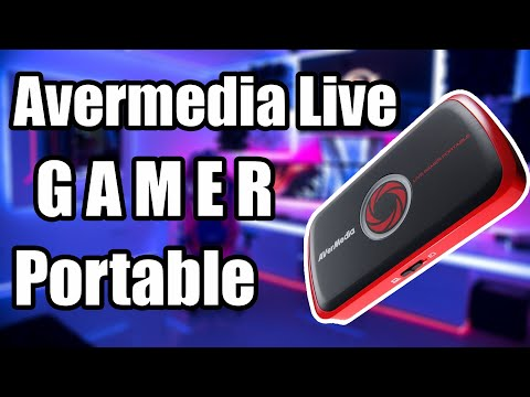 Unboxing-Avermidia Live Gamer Portable+Software
