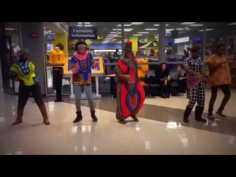 ETSU Shades of Africa Flash Mob