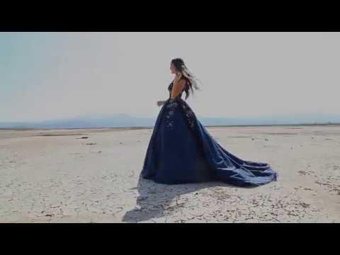 Blue Sleeveless Quinceanera Dress by Ragazza Fashion Style P17-3