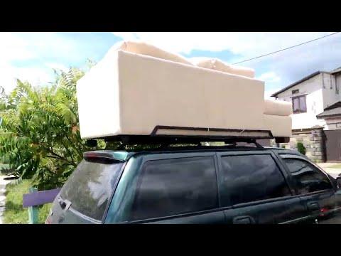 Багажник на крышу автомобиля своими руками на ваз