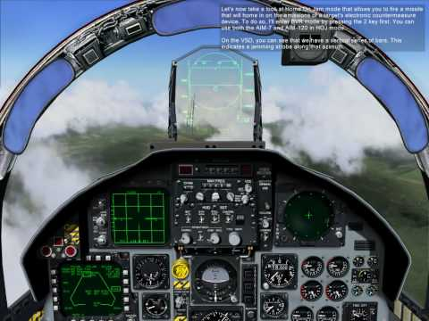 16. F-15C: AIM-120 and AIM-7 Auto Acquisition Modes and Home On Jam
