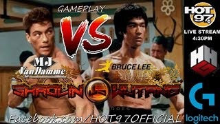 BRUCE LEE Vs JEAN CLAUDE VAN DAMME   Shaolin Vs Wu-Tang REVIEW   PC RTX 2080Ti   HipHopGamer