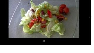 Диета 1200Ккал/Салат овощной с фасолью 51ккал-100гр.