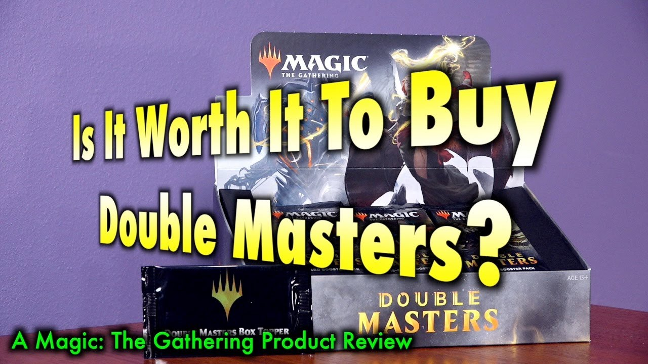 Is It Worth It To Buy A Double Masters Booster Box? A Magic: The Gathering Product Review