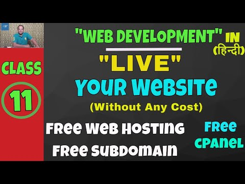 How To Make Website Live ? Free Web Hosting And Domain || Web Development Lesson-11