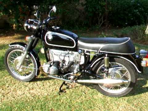 BMW R50/5 First start after restoration   YouTube