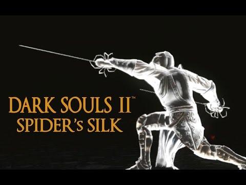 Dark Souls 2 Spider's Silk Tutorial (dual wielding w/ power stance)