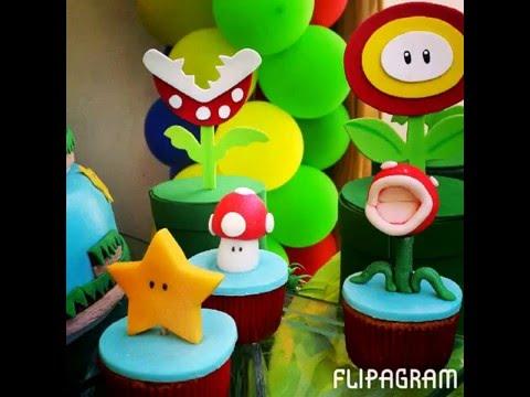 Fiesta Mario Bros Decoración Infantil By At Risitaseventos Youtube