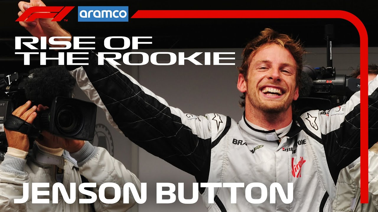 Jenson Button: The Story So Far | Rise of the Rookie | Aramco