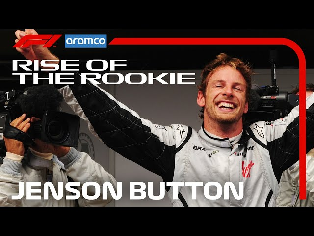 Jenson Button: The Story So Far   Rise of the Rookie   Aramco