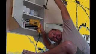 Remove Cabinets