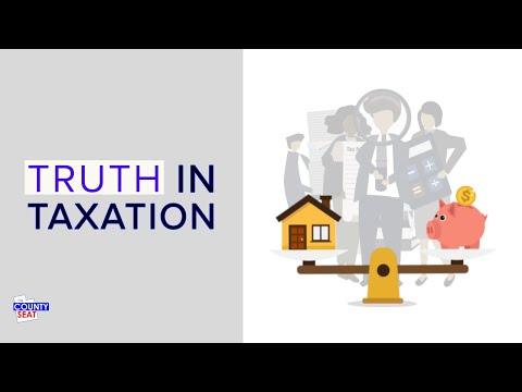Truth In Taxation An Introduction To Property Taxes In Utah