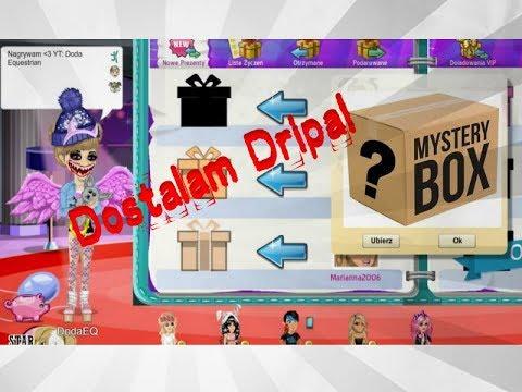 Mystery Box w Moviestarplanet?! Dostałam Dripa :O