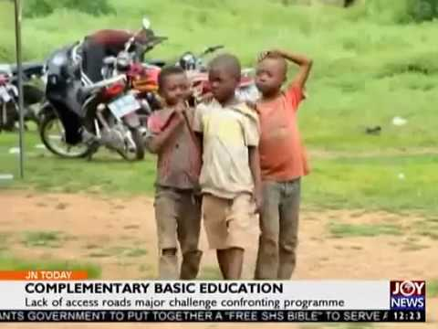 Complementary Basic Education - Joy News Today (7-9-17)