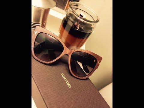 d9bdecca78c Tom Ford Anoushka Sunglasses Review - YouTube