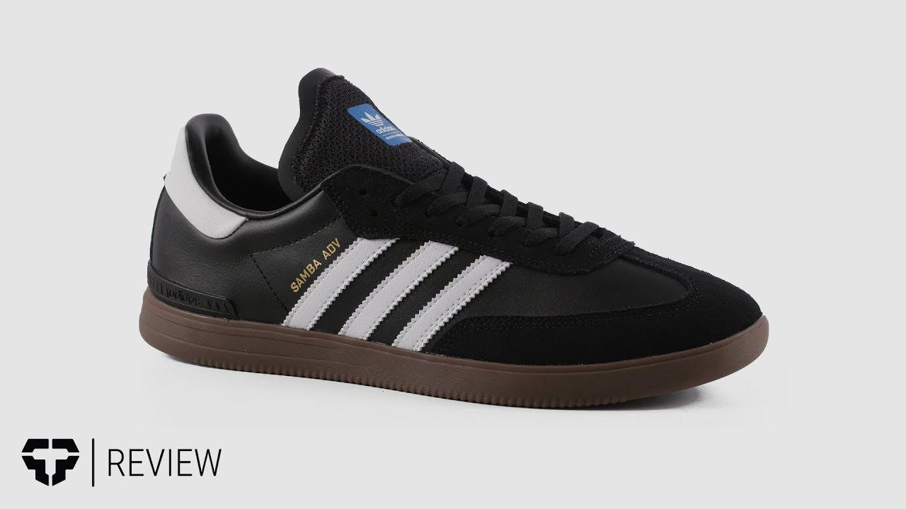 Adidas Samba ADV Skate Shoes Review - Tactics.com - YouTube 05cc3fd1f