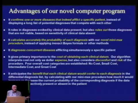 A Practical Computer Program that Diagnoses Diseases in Actu