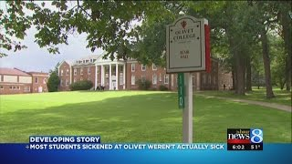 50+ Olivet College students tested; only 3 sick