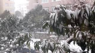 İstanbul ve kar 7 ocak 2017