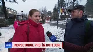 Inspectorul PRO: În hoteluri