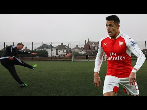MANCHESTER UNITED ALEXIS SANCHEZ FOOTBALL CHALLENGE
