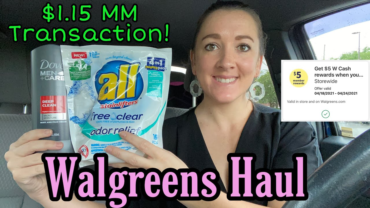 Walgreens Haul 4/18-24/2021 - FREE DOVE!