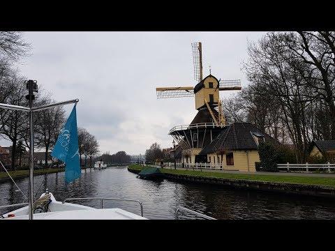 На яхте по каналам Голландии. Часть 1. Начало
