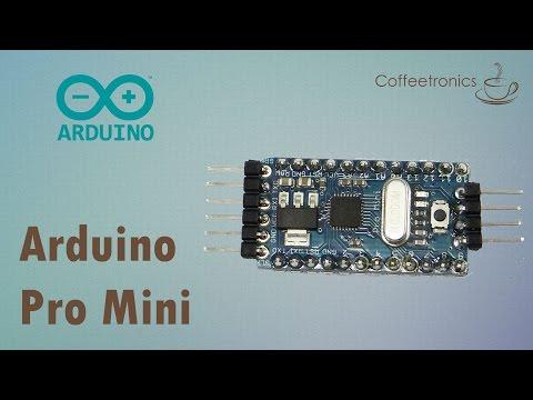 Programando Arduíno Pró Mini Com Arduíno Uno