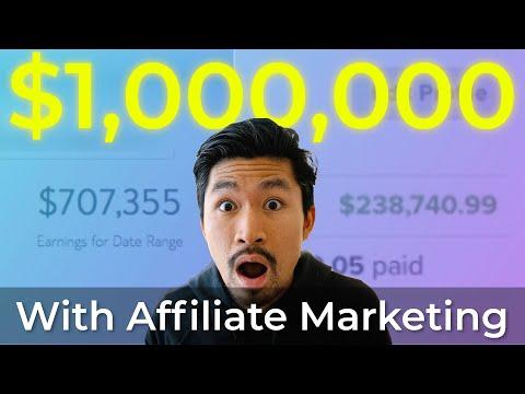 Zero to $1 MILLION with Affiliate Marketing! (FULL STORY)