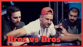 Bros vs Bros Cash Game at 888poker Live in London