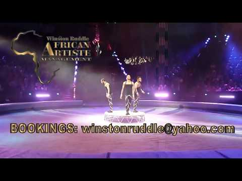 AFRICAN ACROBATS MANAGEMENT MALE TRIO HANDSTAND ACT 003