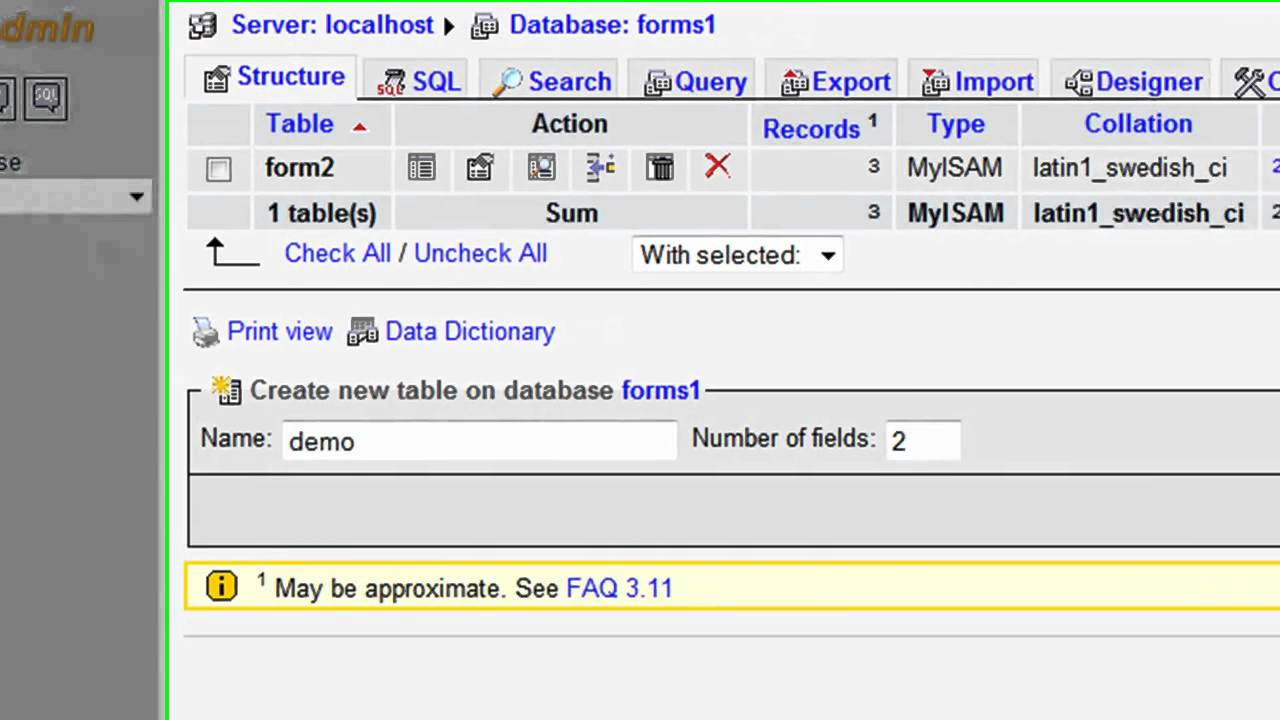 How to Create an HTML Form That Stores Data in a MySQL Database Using PHP  Part 1 of 4