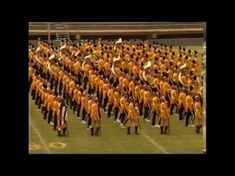 Nederland High School Band 1998 - UIL Region 10 Marching Contest