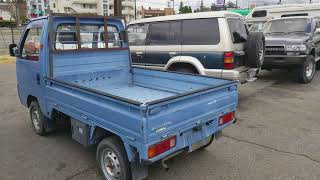 Honda Acty Truck 1988 HA2 AWD real time