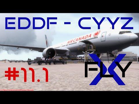 FlyX #11.1 Frankfurt - Toronto (ACA 77W) [FullHD]