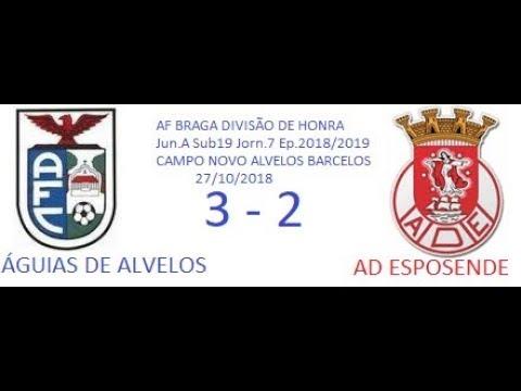 ÁGUIAS DE ALVELOS 3-2 AD ESPOSENDE