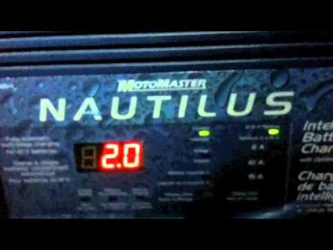 Motomaster Nautilus Smart Charger YouTube