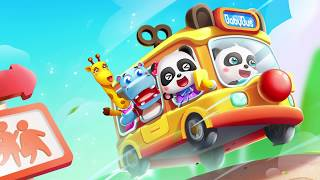 Baby Panda's School Bus | Drive Amazing Baby Bus | Game Preview | BabyBus Game