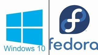 How to dual boot Windows 10 and Fedora 24 / Fedora 25