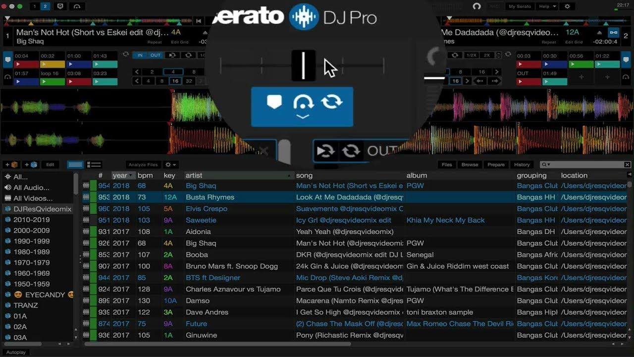 serato dj 2.0 download mac