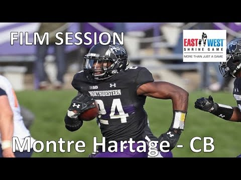Montre Hartage (Northwestern) FILM SESSION (CB) || 2019 NFL Draft