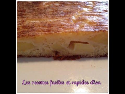 gâteau moelleux aux pommes facile et rapide - youtube
