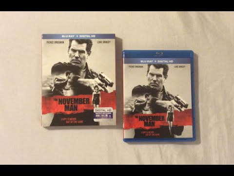 The November Man (2014) Blu Ray Review and Unboxing