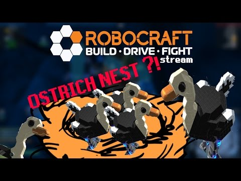 Robocraft - Welcome To The NEST - Ostrich Event Stream Highlights