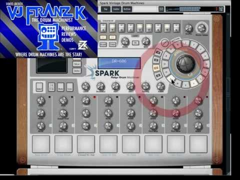 New SPARK VINTAGE DRUM MACHINES by ARTURIA - Drum Synth Software - Part A Intro