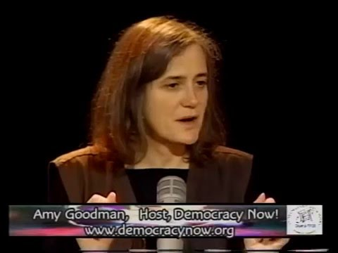 Amy Goodman live on Seattle Public Access TV Sept 14 2002