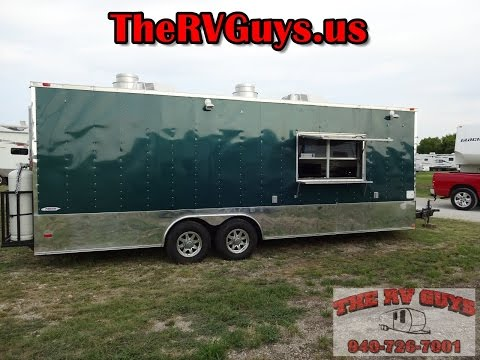 Have Kitchen, Will Cook! Freedom Trailers Mobile Kitchen - Food Business