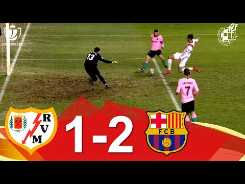 Vallecano Barcelona Goals And Highlights